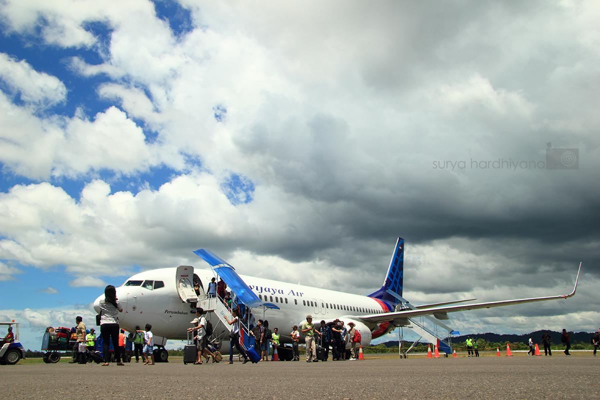Bandara HAS Hanandjoeddin, Pintu Gerbang Belitung