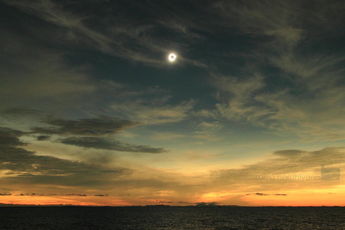 Gerhana Matahari Total 9 Maret 2016 di Belitung