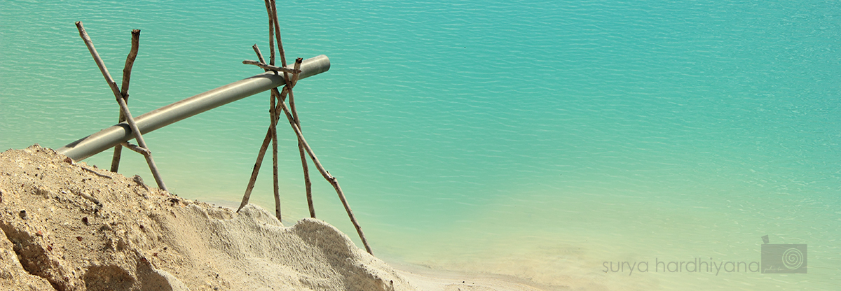 Keindahan Danau Kaolin, Keindahan Berbalut Tragedi Alam