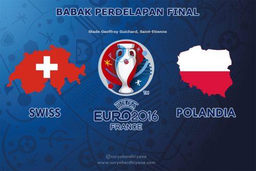 Preview Perdelapan Final Swiss vs Polandia