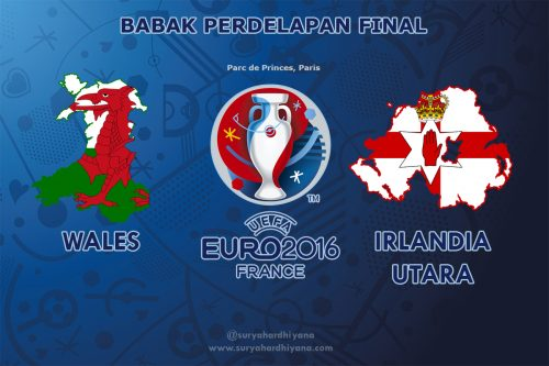 Preview Perdelapan Final Euro 2016 Wales VS Irlandia Utara