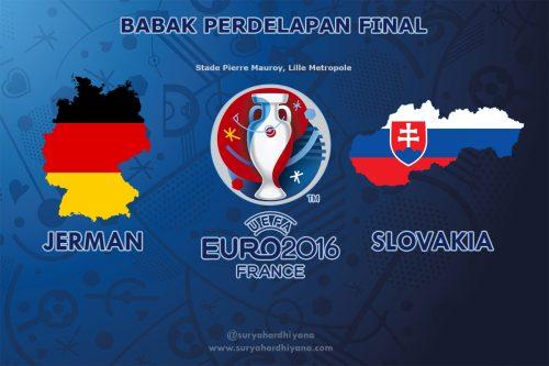 Perdelapan Final Euro 2016 Jerman-Slovakia