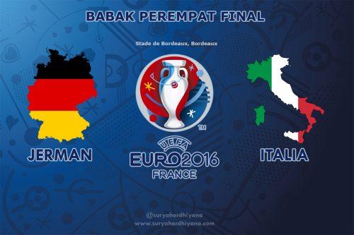 Perempat Final Euro 2016 Jerman vs Italia