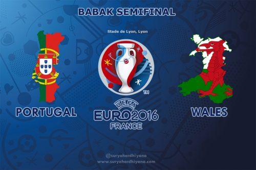 Semi Final Euro 2016 Portugal vs Wales